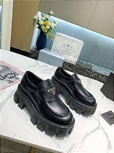 """Tênis Prada Platform """"Black"""""""