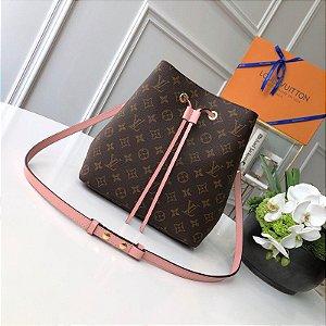"Bolsa Louis Vuitton NéoNoé ""Rose Poudre"" (PRONTA ENTREGA)"
