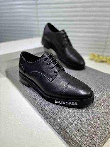"""Sapato Social Balenciaga """"All Black"""""""