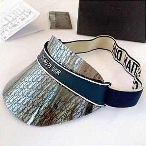 "Viseira Dior ""Oblique Blue"" (PRONTA ENTREGA)"