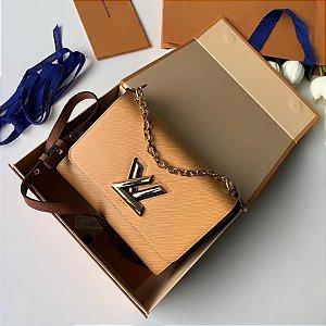 "Bolsa Louis Vuitton Twist MM "" Beige"" (PRONTA ENTREGA)"