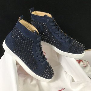 "Christian Louboutin Louis Spike ""Blue"" (PRONTA ENTREGA)"