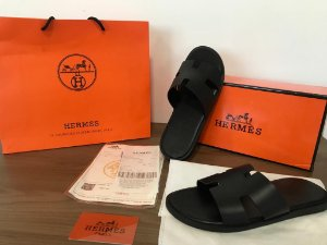 "Sandália Hermes izmir ""All Black"" (PRONTA ENTREGA)"
