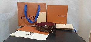 "Cinto Louis Vuitton Reversível ""Belt""  (PRONTA ENTREGA)"