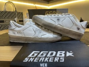 "Tênis Golden Goose Superstar ""White Star"" (PRONTA ENTREGA)"