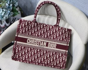 "Bolsa Tote Dior Book  Oblique ""Maple"""
