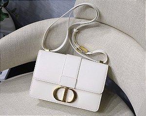 "Bolsa Dior 30 Montaigne Vitelo Box ""Latte"""