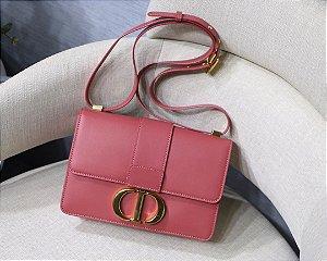 """Bolsa Dior 30 Montaigne Vitelo Box """"Rosa-Malva"""""""
