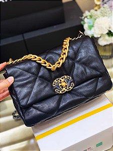 "Bolsa Chanel 19 ""Black"""