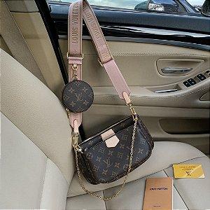 """Multi Pochette Accessoires Louis Vuitton """"Rose Clair"""" (PRONTA ENTREGA)"""