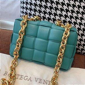 """Bolsa Bottega Veneta The Chain Cassette """"Linoleum"""""""