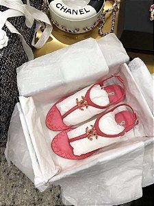 "Sandália Chanel ""Pink"""