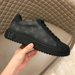 "Tênis Louis Vuitton Time Out ""Black"""