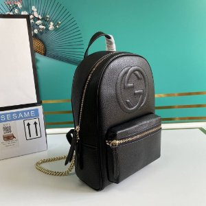 "Mochila Gucci Big GG ""Black"""