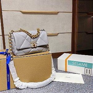"""Bolsa Chanel 19 """"Grey"""""""
