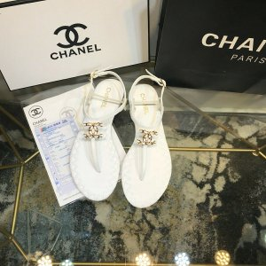 "Sandália Chanel ""White"""