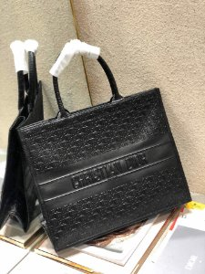 "Bolsa Tote Dior Book Vitelo  ""All Black"""