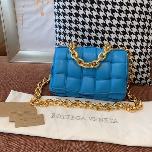 "Bolsa Bottega Veneta The Chain Cassette ""Mallard"""