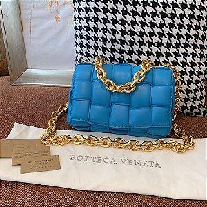 """Bolsa Bottega Veneta The Chain Cassette """"Mallard"""""""