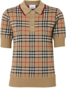 "Camisa  Burberry Polo Xadrez ""Vintage"""