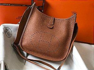 "Bolsa Hermès Evelyne ""Brown"""