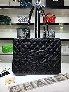 "Bolsa Chanel Shopper Tote ""Black"""