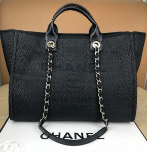 "Bolsa Chanel Tote Bag ""Black"""