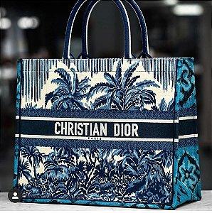 "Bolsa Tote Dior Book ""Palms"""