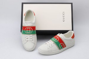 "Tênis Gucci Ace ""White""-"