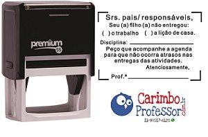 Carimbo Professor CNPJ P55 Personalizado