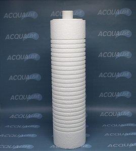 Elemento Filtrante 5 micra com rosca 5HF 230 Ranhurado - Hidro Filtros