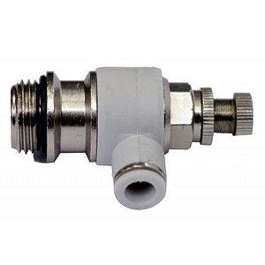 Controlador de fluxo para purificadores de água Latina