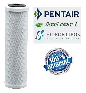 """Elemento Filtrante Carbon Block 9 ¾"""" Hidro Filtros"""