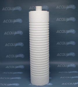 Elemento Filtrante 25 micra com rosca 25HF 230 Ranhurado - Hidro Filtros