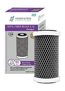 Elemento filtrante Fiber Block 4 ⅞ -  Aqualar Bella Fonte