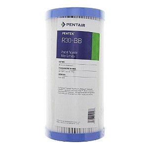 Elemento Filtrante Plissado 30 Micra 10 Polegadas Big - R30 - Pentair