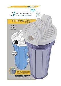 """Filtro para máquinas de lavar roupas Mid 9.3/4"""" - Hidro Filtros"""