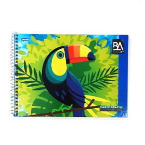 Caderno Desenho e Cartografia Milimetrado Tucano BA 96F Jandaia