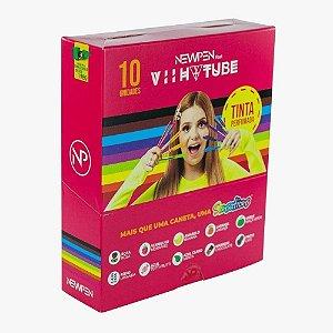 Caneta Clic Perfumada Sensations Viih Tube Cx/10 Cores