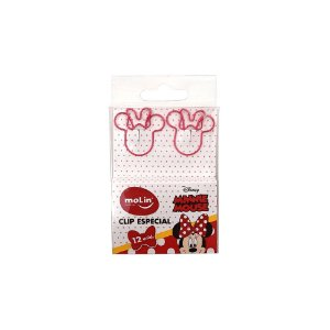 Clips Especial Minnie Mouse 12 unid. Molin 22397