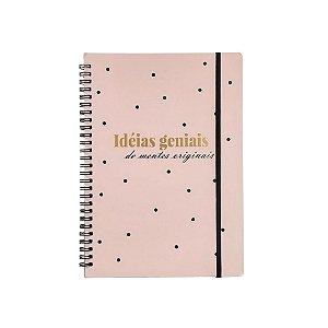 Caderno de Anotações 60 folhas Ideias Geniais SXZK-4908
