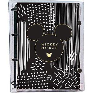 Fichário Mickey Universitário com 192 folhas Teen cristal 4 argolas 3139 Dac