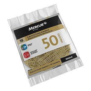 Elástico Super Amarelo 50 unidades Mercur