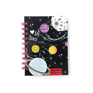 Agenda Permanente Win Paper My Space 1/4 96 folhas wpm01023