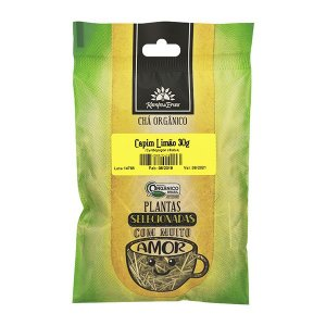 Capim Limão (capim cidreira) orgânico 30g -Kampo de ervas