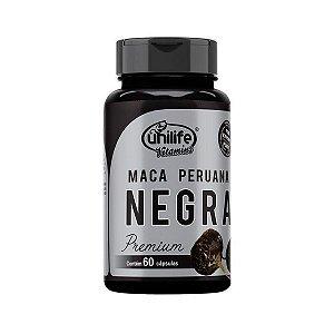 Maca Peruana Negra Premium - 60 cápsulas - Unilife