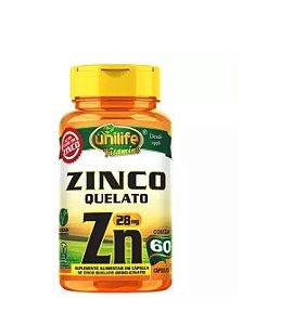 Zinco 500mg-  60 cápsulas - Unilife