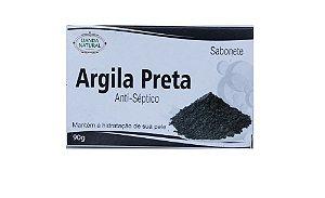 SABONETE ANTISSÉPTICO NATURAL DE argila preta- (manchas) - LIANDA 90G