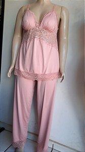 Pijama longo plus liganete