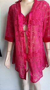 Kimono de renda